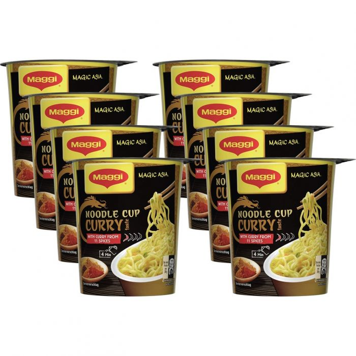 MAGGI Magic Asia Noodle Cup (Curry 8 x 63g)