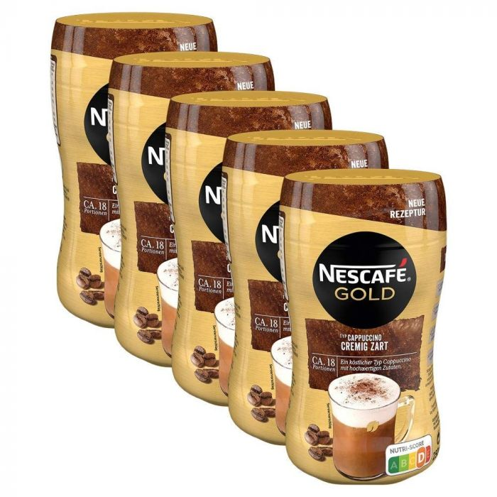 Nescafe Gold Typ Cappuccino  (5 x 250g)